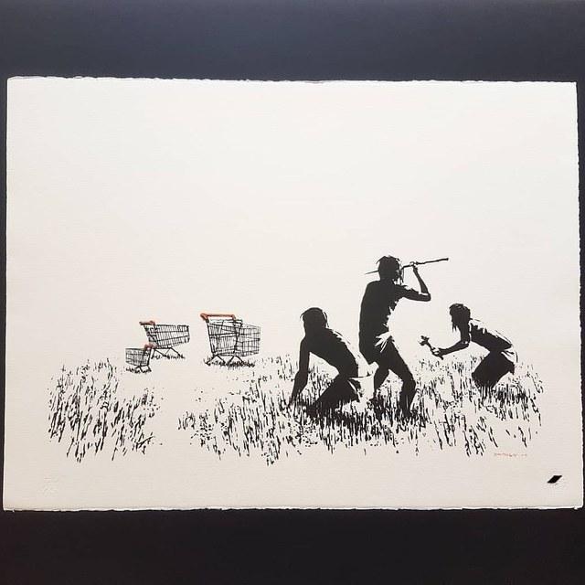 Banksy, 'Trolleys', 2007, Castle Gallery
