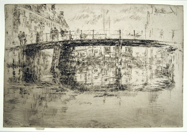 , 'The Bridge, Amsterdam - First State,' 1889, Harris Schrank Fine Prints