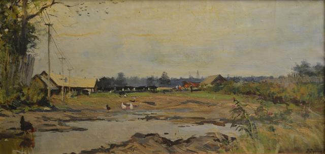 Vasily Vasilievich Tulin, 'Farm', 1975, Surikov Foundation