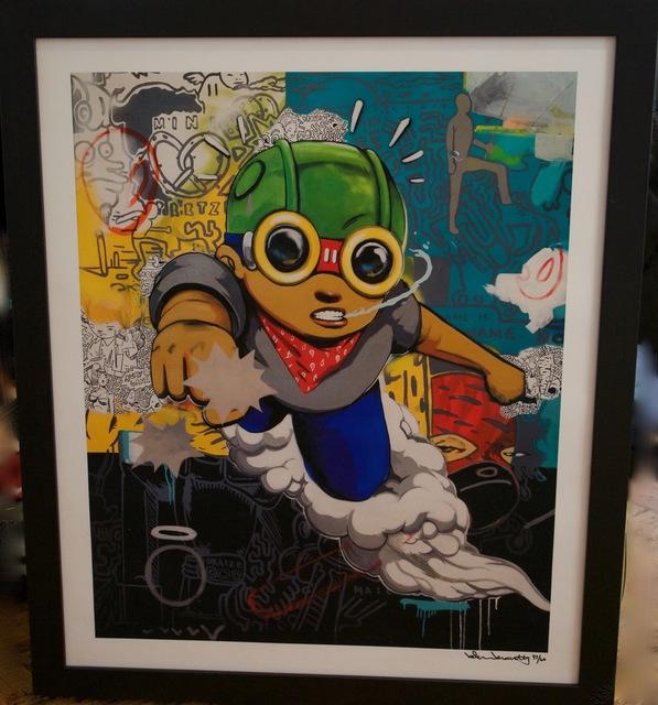 , 'Flyboy Punch,' ca. 2016, Peerless Arts