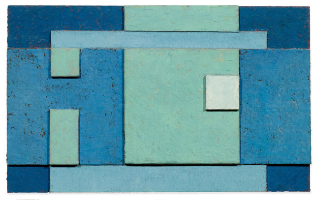 Robert Gessner, 'Untitled', 1962, Painting, Oil on wood, collaged, Koller Auctions