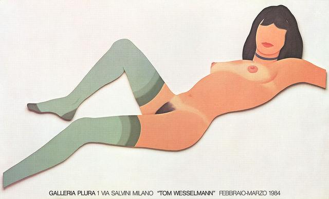Tom Wesselmann, 'Galleria Plura poster', 1984, MSP Modern