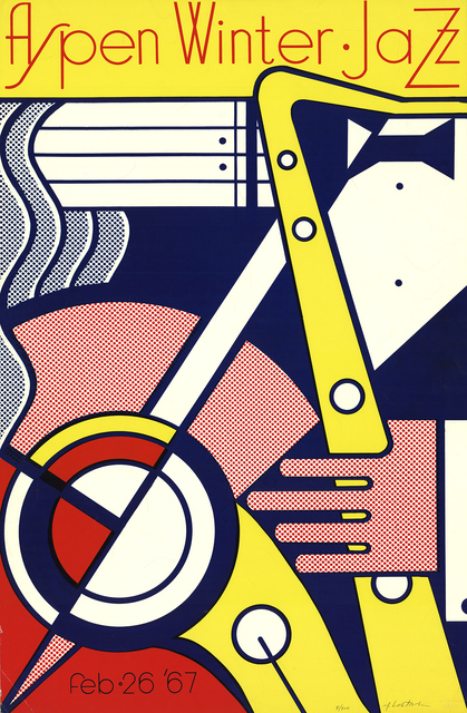 Roy Lichtenstein, 'Aspen Winter Jazz', 1967, Print, Silkscreen, ArtWise