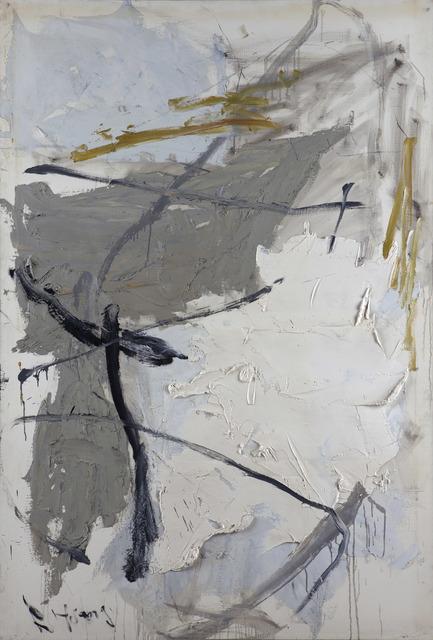 , 'White and Grey,' 1989-1990, Boers-Li Gallery