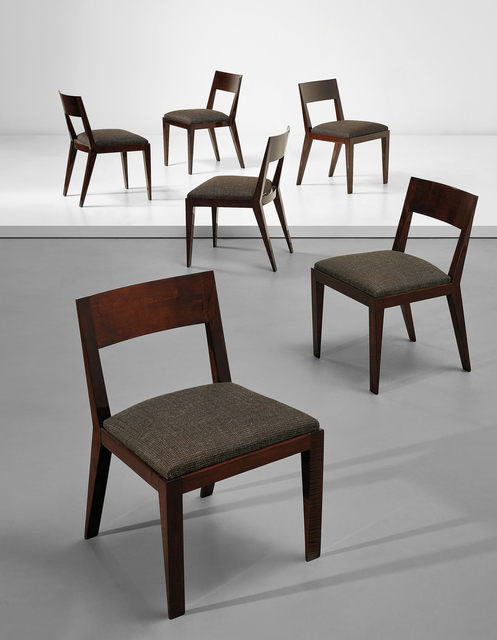 Pleasant Jean Royere Set Of Six Dining Chairs Ca 1935 Artsy Ocoug Best Dining Table And Chair Ideas Images Ocougorg