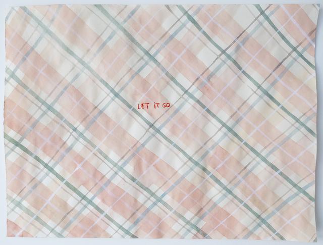 Julia Kuhl, 'Domestic Textiles Series, Let It Go', 2019, frosch&portmann