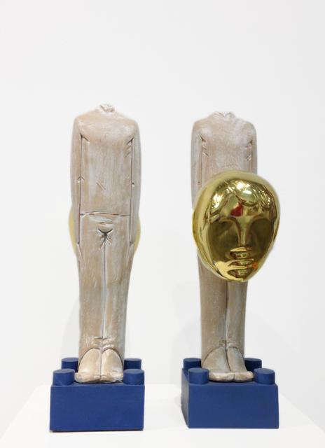 Ivan Lardschneider, 'Faccia da Cazza/Faccia da Culo', Galleria Ca' d'Oro
