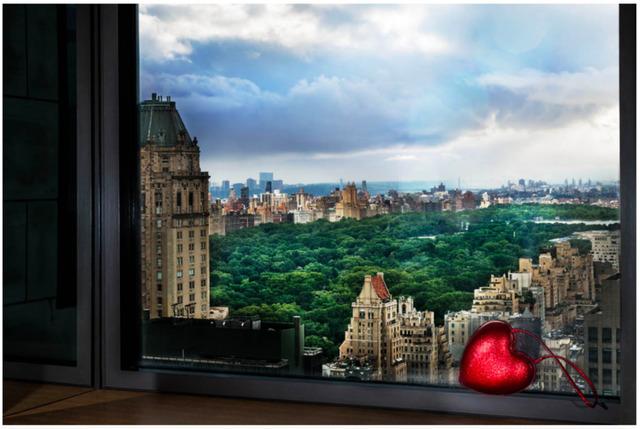 David Drebin, 'Love Over Central Park', Photography, Digital C Print on Paper, Art Angels