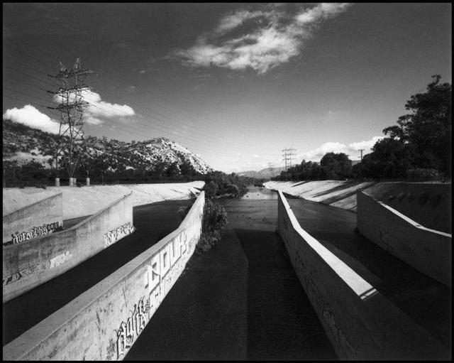 Bruce Davidson, ' LA River, Los Angeles, California', 2008, ROSEGALLERY