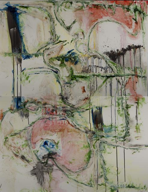 , 'Suspended #3 (vertical diptych),' 2015, Walter Wickiser Gallery