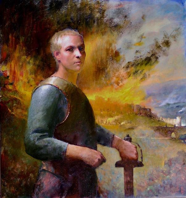 Gregg Kreutz, 'Joan', 2019, The Galleries at Salmagundi
