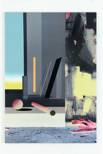 , 'Raum 1303 Floß (Atelier-Interieur),' 2016, Galerie Hans Mayer