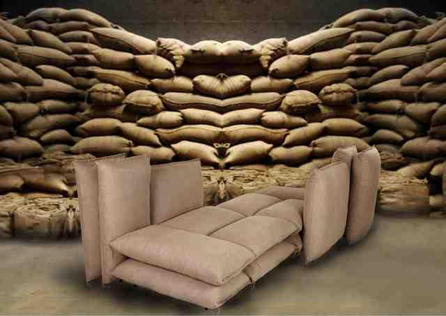 Gunjan Gupta, 'Bori sofa,' 2013, Erastudio Apartment Gallery