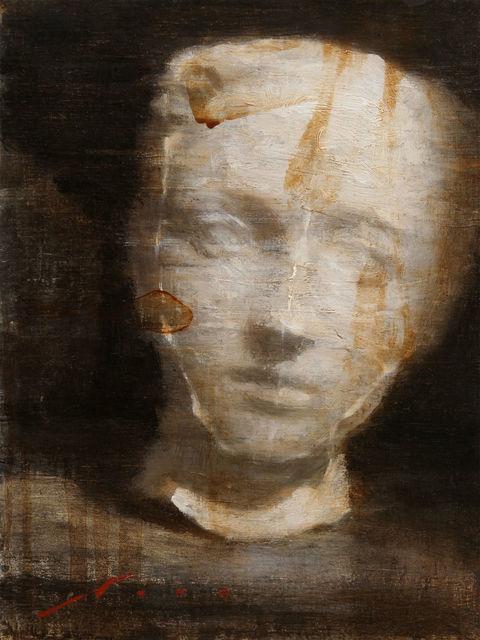 Vincent Xeus, 'Rodin Menace', 2014, Painting, Oil, Gallery 1261
