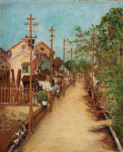 , 'Outside Chiayi Street (2),' 1927, Liang Gallery