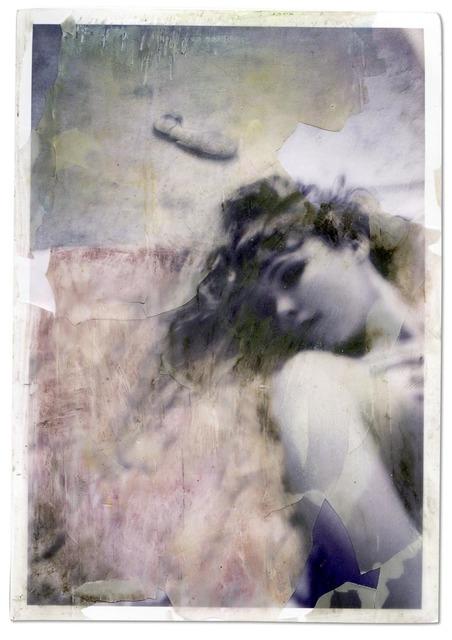 , '#11350-watercolorgirlprnt (from: A Burnt Child Seeks The Flame),' 2014, Alex Daniels - Reflex Amsterdam