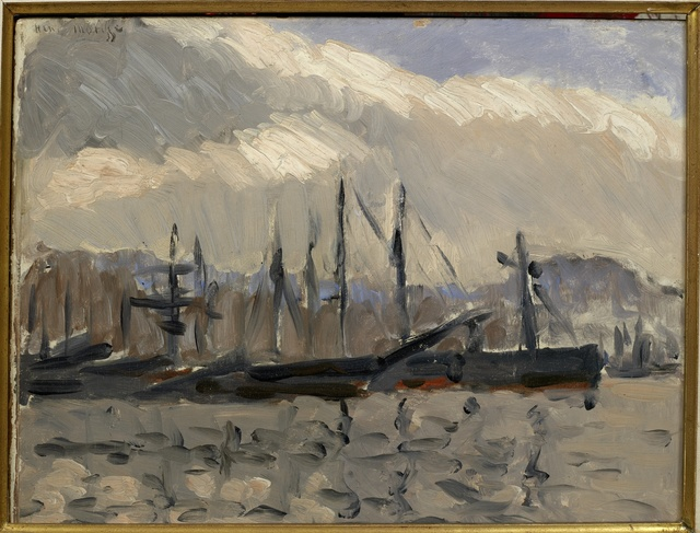 , 'Port de Cherbourg,' 1918, Opera Gallery