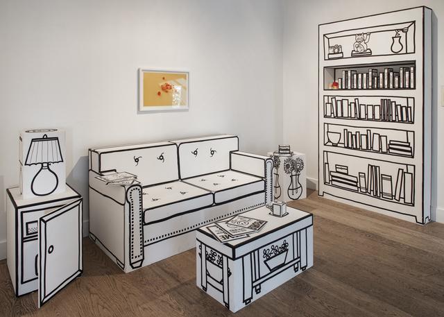 , 'Home Office,' 2018, Galerist
