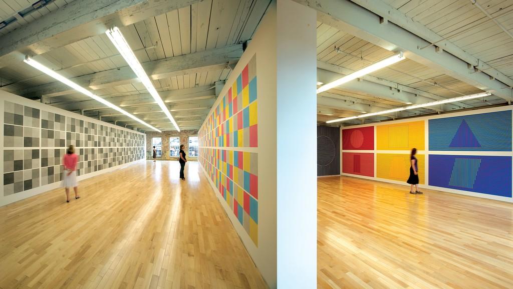 Sol LeWitt: A Wall Drawing Retrospective | MASS MoCA | Artsy