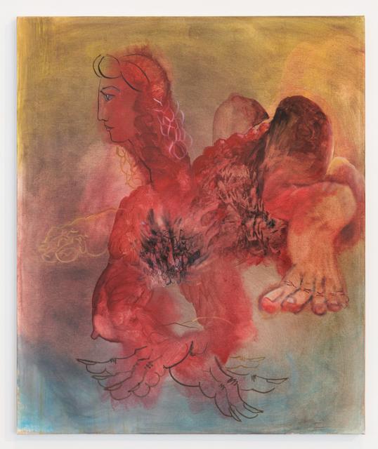 Autumn Ramsey, 'Red Sphinx', 2013, Galerie Crevecoeur