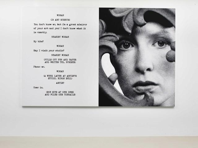 John Baldessari, 'Pictures & Scripts: ...Files toenails', 2015, Marian Goodman Gallery