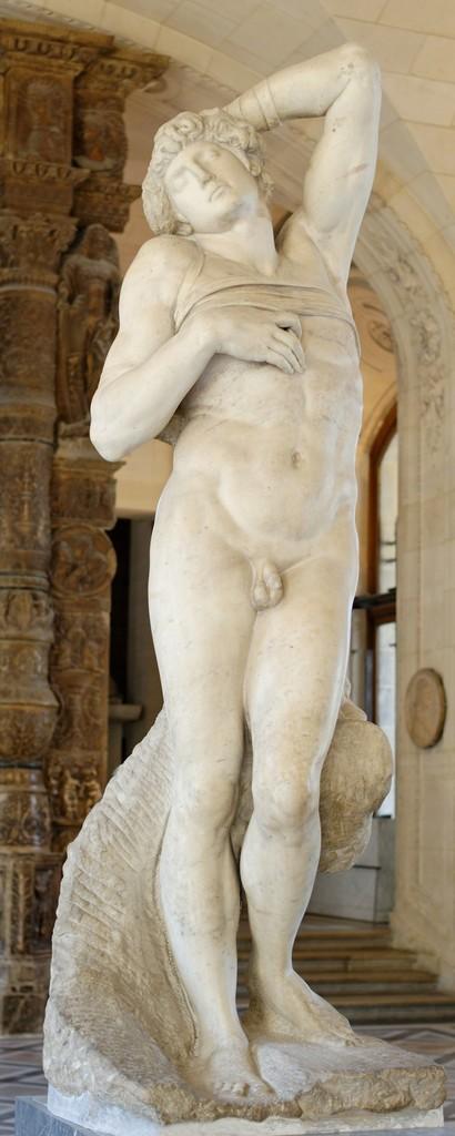 Dying slave, for the tomb of Pope Julius II - Giuliano della Rovere - (1443-1513)