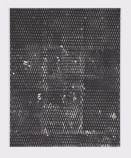 , 'Expanded Metal Painting 14,' 2017, Galerie Nikolaus Ruzicska