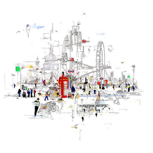 , 'Current Affairs,' 2010, Wychwood Art