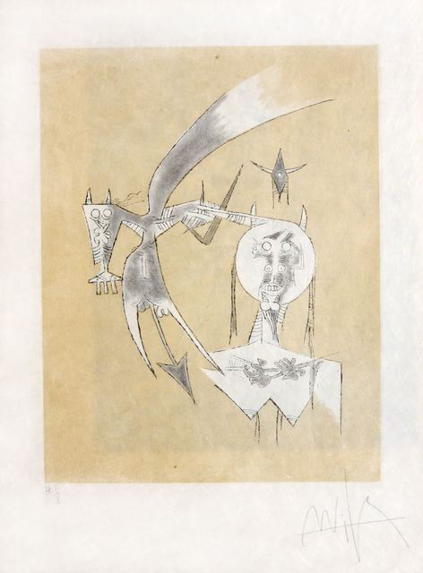 Wifredo Lam, 'De Sceve a Diane ', 1975, Denis Bloch Fine Art