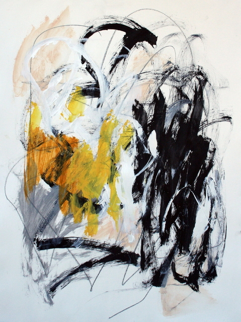 , 'Composition with Yellow V,' , Calvin Charles Gallery