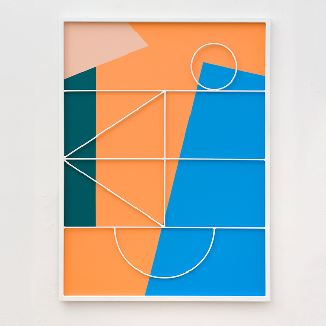 Przemek Pyszczek, 'Facade Painting II, CA', 2019, Todd Merrill Studio