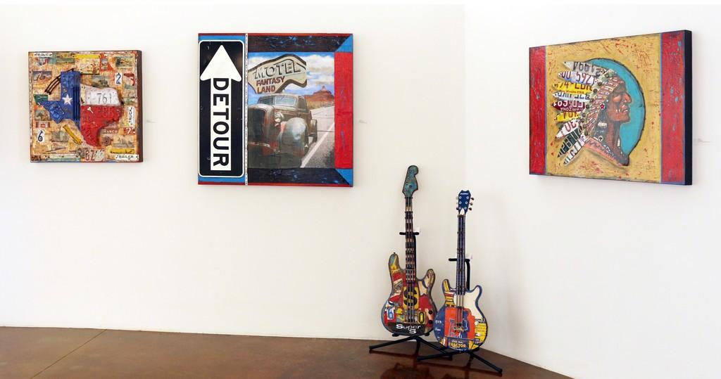 Dave Newman Display Wall