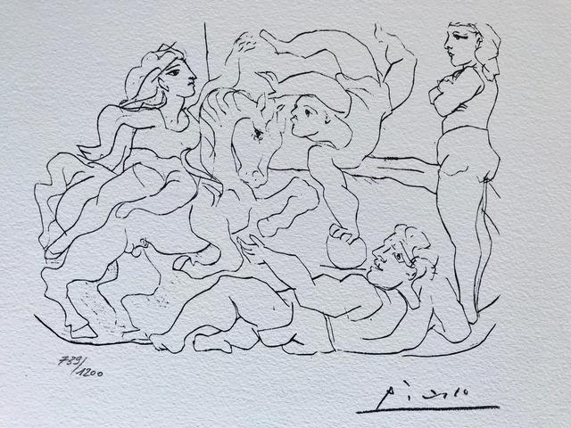 Pablo Picasso, 'Suite Vollard Planche XVII', 1973, ByNewArt