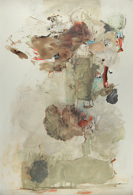 Terrell James, 'Thunder', 2019, Drawing, Collage or other Work on Paper, Paint and ink on stone paper, Jason McCoy Gallery