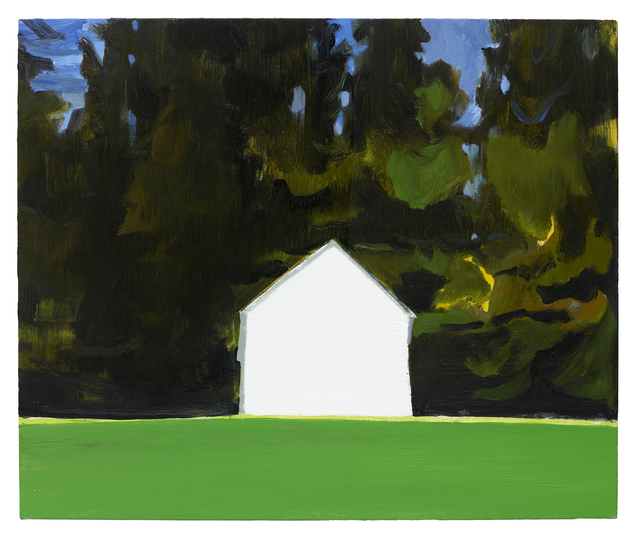 , 'Ice House (Hemlocks),' 2016, Hiram Butler Gallery