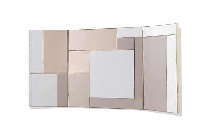 , 'Triptyque mirror,' 2016, Galerie Negropontes