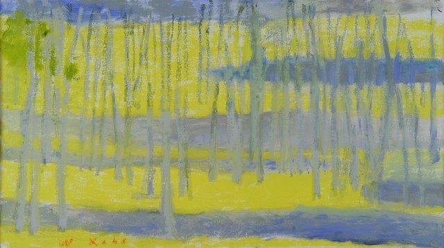 Wolf Kahn, 'Uphill Grove', 2013, Addison/Ripley Fine Art