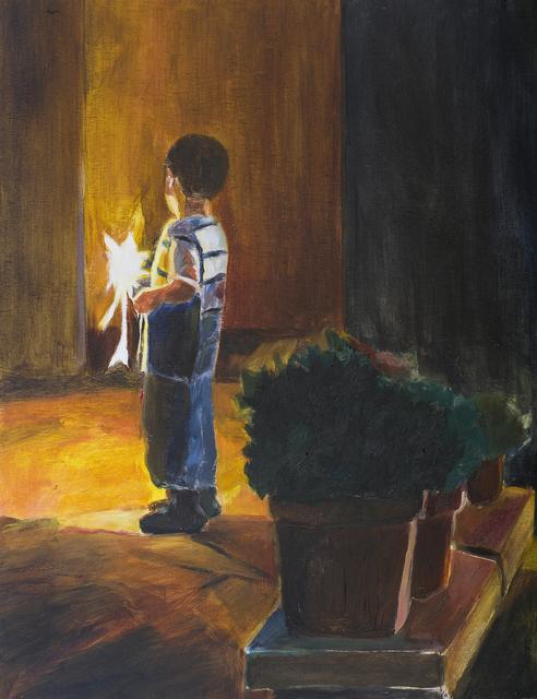 , 'Fireworks 10,' 2013, Dvir Gallery