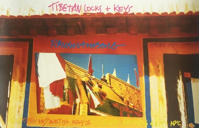 Robert Rauschenberg, 'Tibetan Locks & Keys (Leo Castelli Gallery/Castelli Graphics) ', 1986, Ephemera or Merchandise, Offset Lithograph Poster, Alpha 137 Gallery