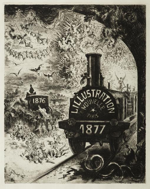 , 'Frontispiece pour L'Illustration Nouvelle 1877 ,' 1877, Childs Gallery