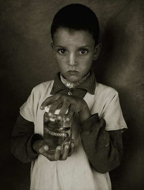 , 'Mostapha Elhanch, Boy With a Jar, Marrakesh,' 1997, Opiom Gallery