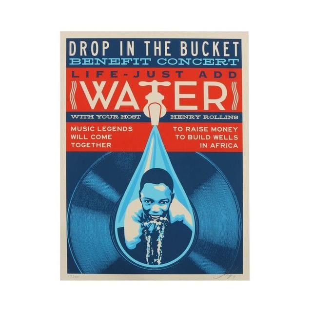, 'Drop in the Bucket,' 2011, AYNAC Gallery