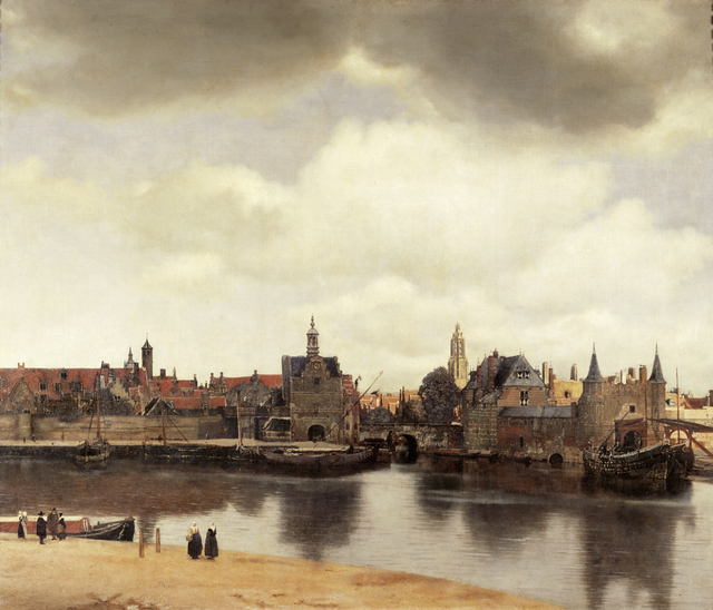 Johannes Vermeer, 'View of Delft, Netherlands, After the Fire', ca. 1658, Erich Lessing Culture and Fine Arts Archive