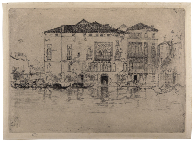 , 'Palaces, Venice,' 1879-1880, David Tunick, Inc.