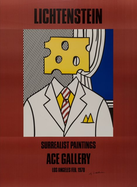 After Roy Lichtenstein, 'Surrealist Paintings: Ace gallery', 1978, Heritage Auctions