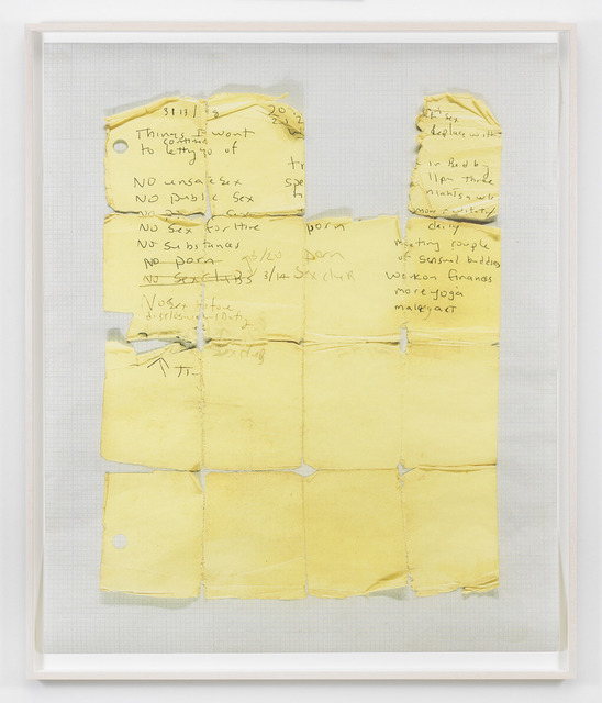 , 'Yellow Grid,' 2014, MARUANI MERCIER GALLERY