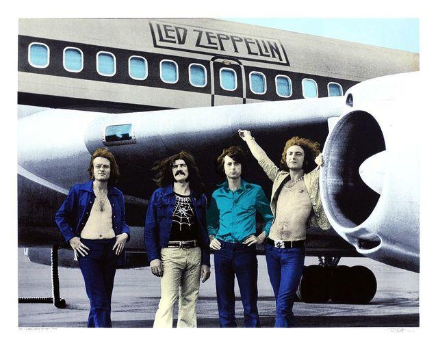 Bob Gruen, 'Led Zeppelin', 2014, Samuel Owen Gallery