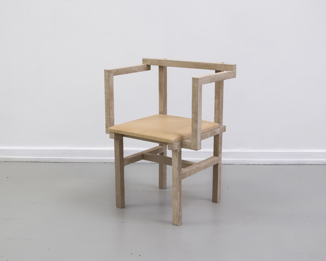 , 'Stoned Chair 2,' 2015, Etage Projects