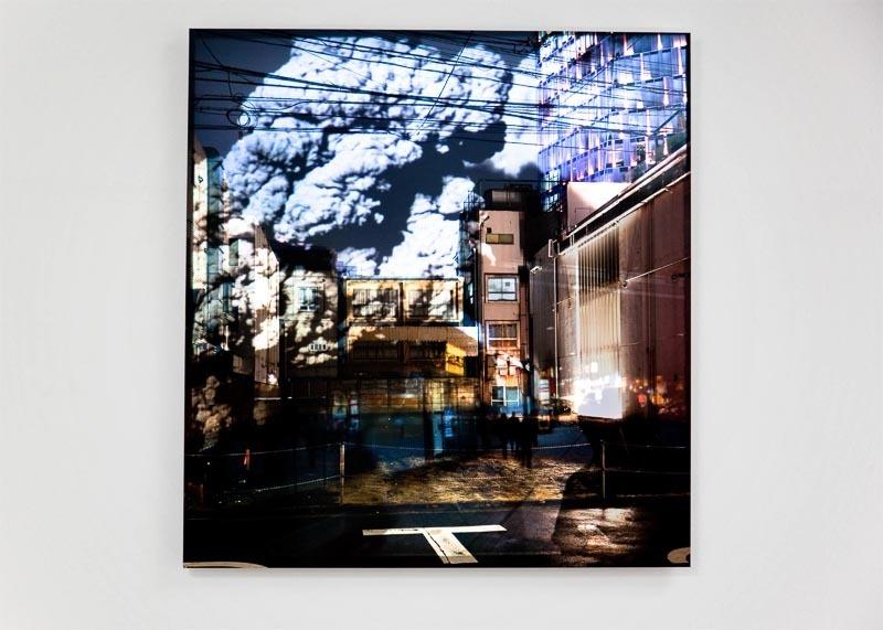 """still of: Monika Rechsteiner, """"Platz"""", video projection on photography, 2012   image: Monika Rechsteiner"""