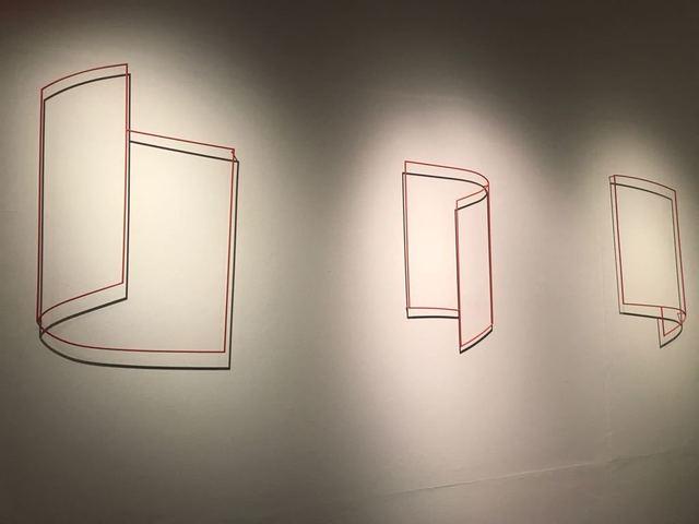 , 'Cilindros parabolicos,' 2001-2002, Galeria Raquel Arnaud